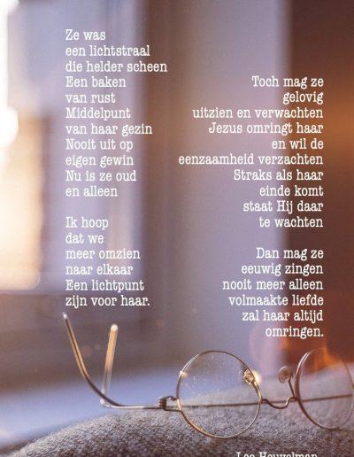 Uitgelezene Dementie - Christelijke Gedichten MK-81